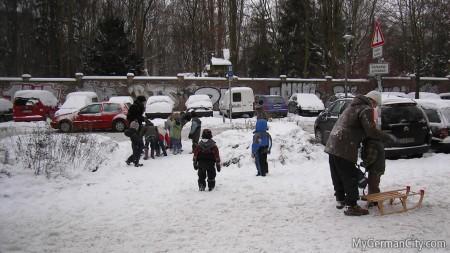 Berlin Winter with Kids, 2010